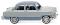 Wiking 082149 Ford Taunus 12 M - hellgrau/dunkelgrau