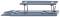 Wiking 085098 Hebebühne - taubenblau