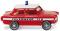 Wiking 086124 Feuerwehr - Trabant 601 S