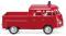 Wiking 086128 Feuerwehr - VW T1 Doppelkabine