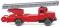 Wiking 086131 Feuerwehr - Leiterwagen (Henschel HS 100)
