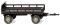 Wiking 086903 Agricultural trailer - brown