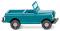 Wiking 092301 Land Rover - helltürkis/cremebeige  - Spur N