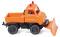 Wiking 097203 Unimog U 411 - Winterdienst